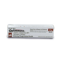 Optimmune Ophthalmic Ointment 1/8oz tube