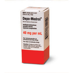 RX DEPO MEDROL 40MG/ML, 5 ML
