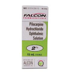 RX PILOCARPINE HCL 2% - 15 ML OPH