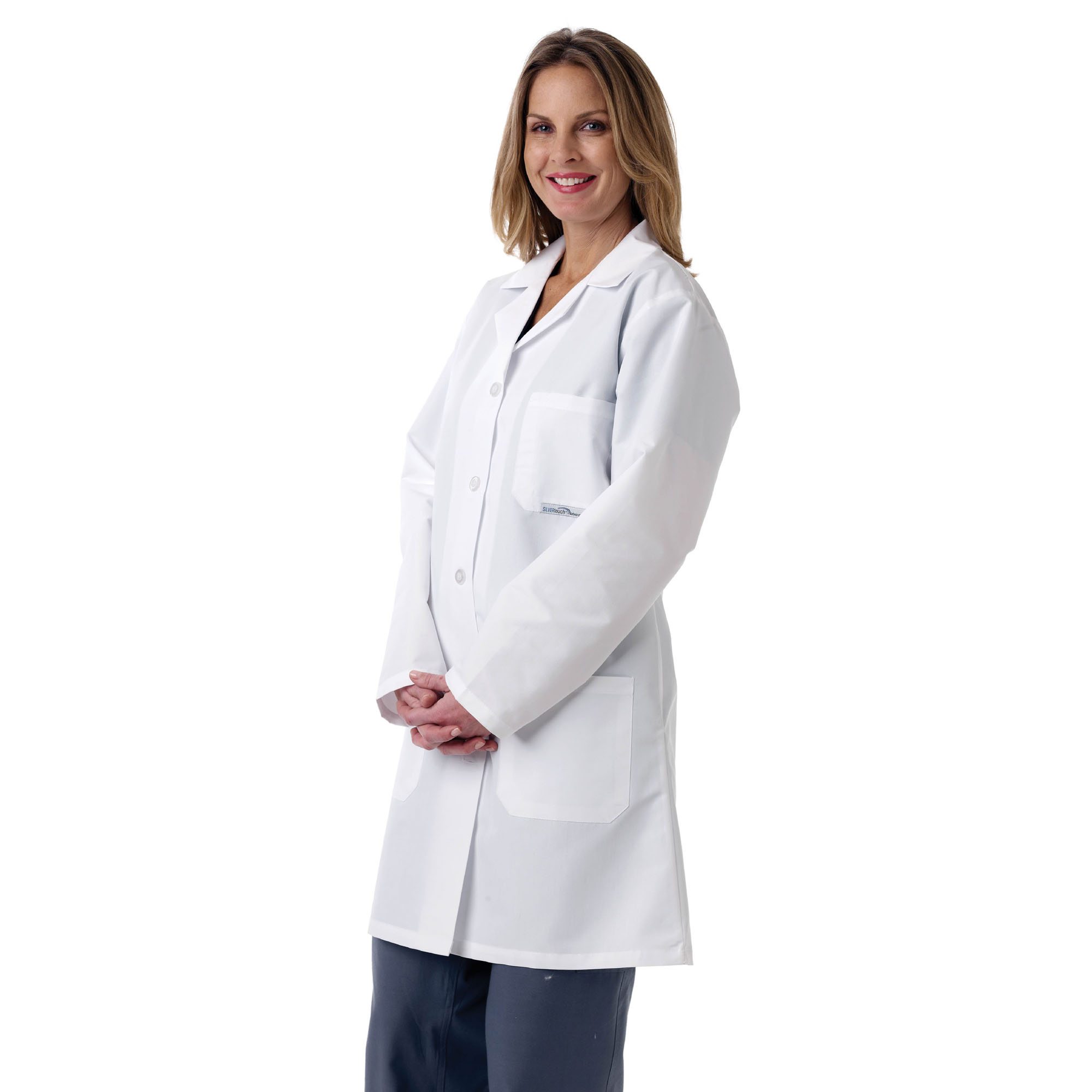 2 OF LAB COAT,LADIES FULL LENGTH,SMALL