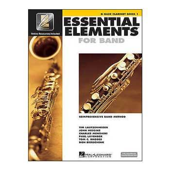 Essential Elements Interactive Bb Bass Clarinet Book 1