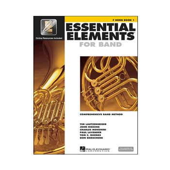 Essential Elements Interactive F Horn Book 1