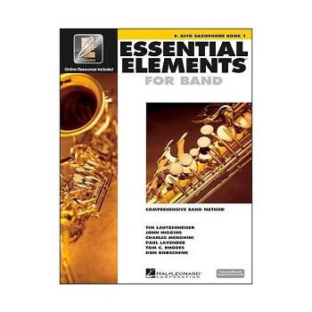 Essential Elements Interactive Eb Alto Saxophone Book 1