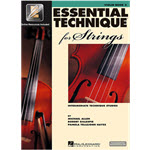 Essential Technique for Strings (Essential Elements Book 3)
