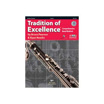 Tradition of Excellence Bb Bass Clarinet Book 1
