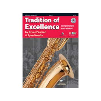 Tradition of Excellence Eb Alto Saxophone Book 1