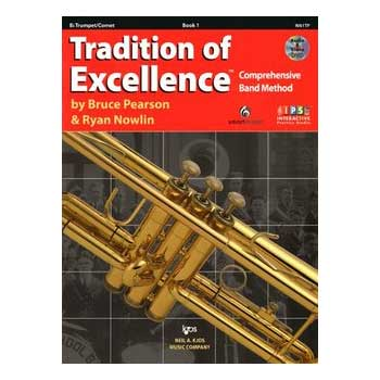Tradition of Excellence Bb Trumpet/Cornet Book 1