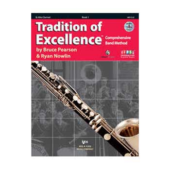 Tradition of Excellence  Eb Alto Clarinet Book 1