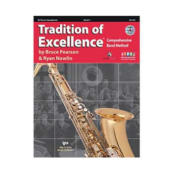 Tradition of Excellence Bb Tenor Saxophone Book 1