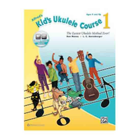 Alfred's Kid's Ukulele Course 1