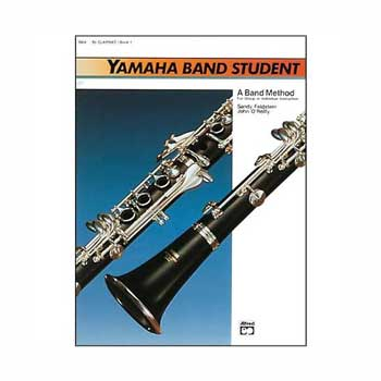 Yamaha Band Student B-flat Clarinet, Book 1