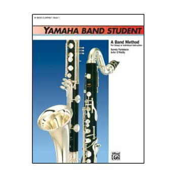 Yamaha Band Student B-flat Bass Clarinet, Book 1
