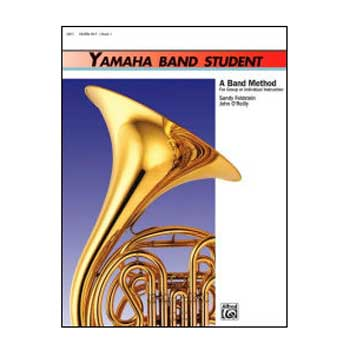 Yamaha Band Student Horn in F, Book 1