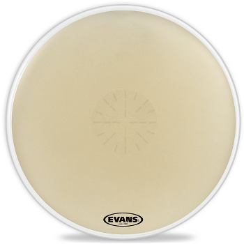 Evans Strata 1400 Bass Drumheads with Power Center