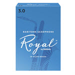 Rico Royal by D'Addario Baritone Saxophone Reeds - Filed