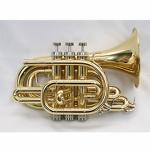 Phaeton Pocket Trumpet - Multiple Finishes Available