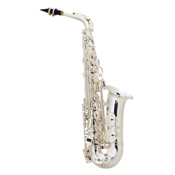 AS42 Professional Alto Saxophone in Silver Plated