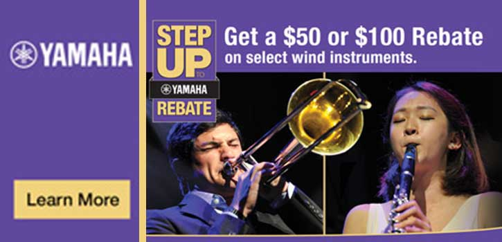 Yamaha Step Up Rebate Program