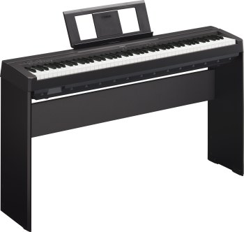 Yamaha P45B 88 Key Digital Stage Piano (Pictured w/ Opt. Stand L85.)