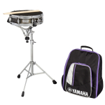 Yamaha Student snare drum kit with rolling backpack