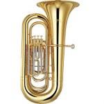 Yamaha Intermediate BBb Tuba - Wood Case