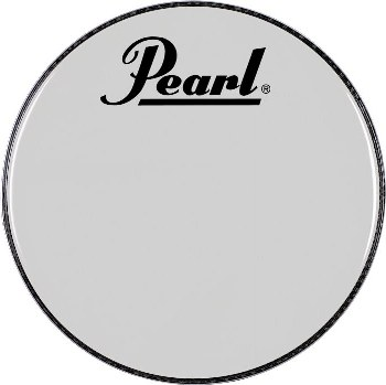 REMO Pearl Logo Marching Bass Drum Heads - Multiple Colors Available
