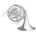 """Hans Hoyer """"Heritage"""" Double French Horn 6801/NSL [Lacquered Nickel Silver - Kruspe]"""