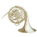 """Hans Hoyer """"Heritage"""" Double French Horn 6802/L [Lacquered Brass - Kruspe]"""