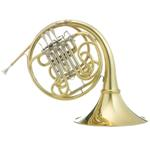 Hans Hoyer Double French Horn G10A-L2 [Lacquered Brass - Geyer]