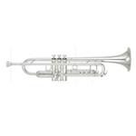 Yamaha Xeno II Professional Bb Trumpet - Large Bore/Gold Brass Bell/Silver