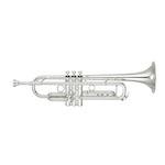 Yamaha Xeno II Professional Bb Trumpet - Large Bore/Reverse Leadpipe/Silver