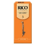 Rico Bass Clarinet Reeds - Box of 25