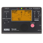 Korg TM60BK Tuner/Metronome