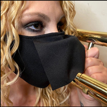 Wind Instrument Mask