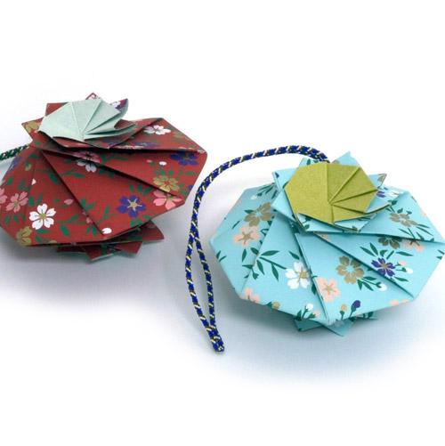 Origami Paper Sachet