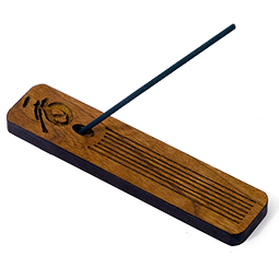Cherry Wood Incense Holder