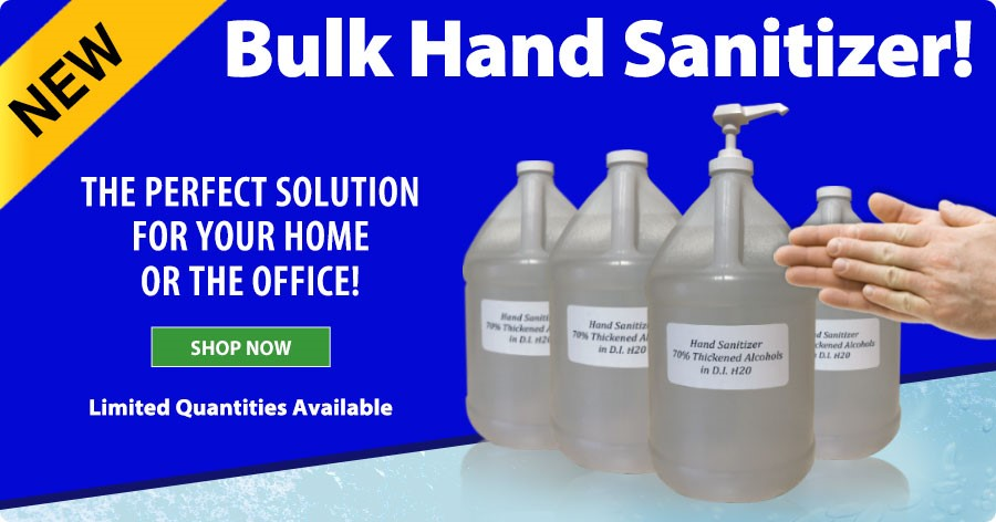 NEW Bulk Hand Sanitizer - The perfect solution for your home or the office!