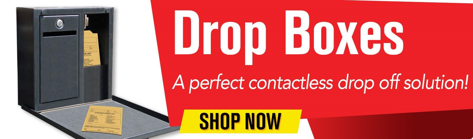 Drop Boxes - A perfect contactless drop off solution!