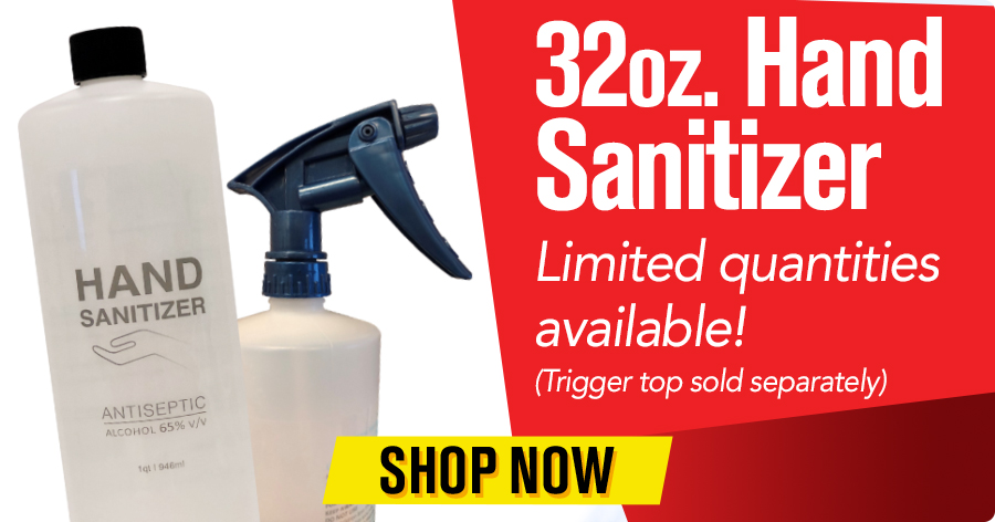 32 oz Hand Sanitizer - Limited quantities available
