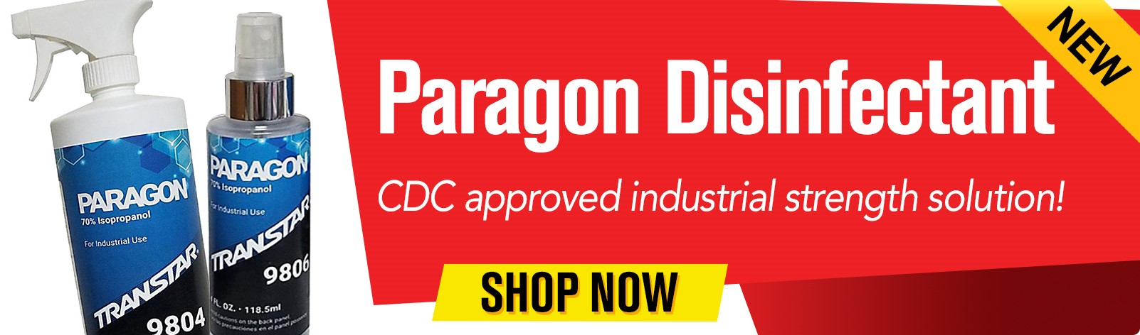 Paragon Disinfectant - CDC approved industrial strenght solution!