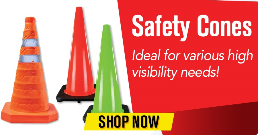 Safety Cones - Ideal for various high visibility needs!
