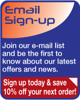 Sign up and be the first to know about our latest offers and news.