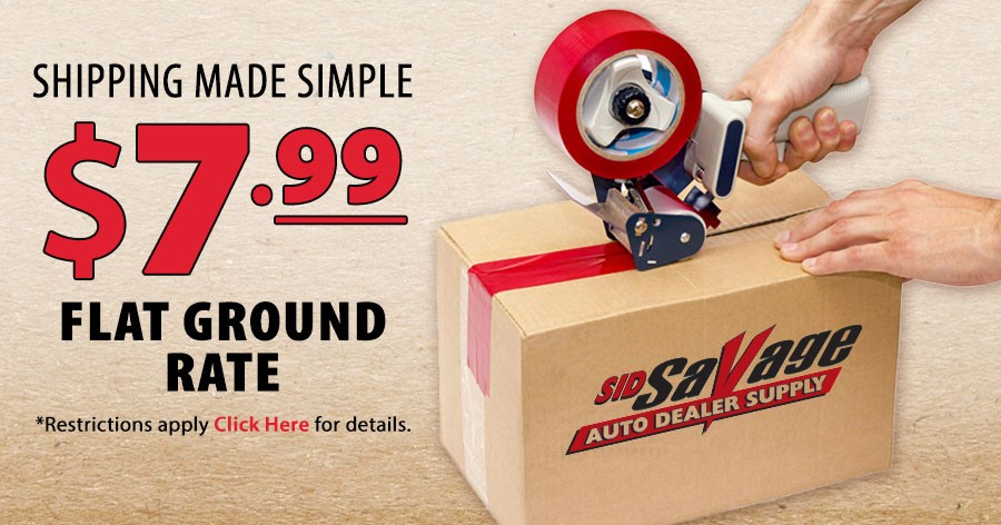 Limited Time Only! $7.99 Flat Ground Rate Shipping. Hurry, ends soon.