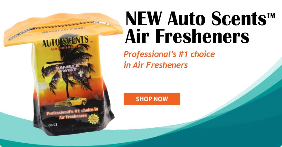 Auto Scents™ - Professional's #1 choice in Air Fresheners