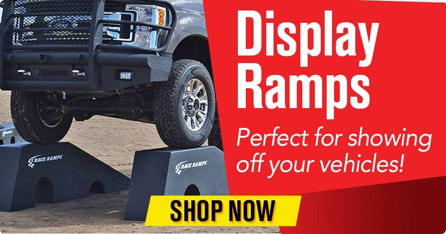 Display Ramps - Perfect for showing off your vehicles!