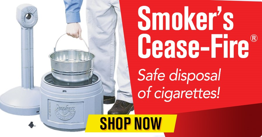 Smoker's Cease Fire - Safe disposal of cigarettes!