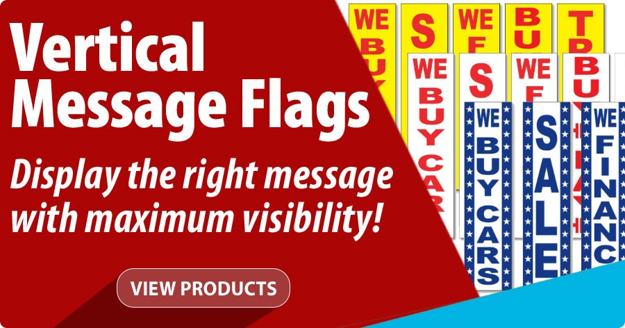 Vertical Message Signs - Display the right message with maximum visibility!