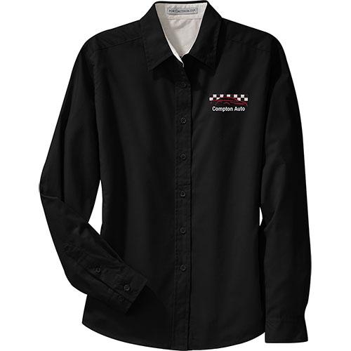 P/A Shirt LS Ladies Easy Care