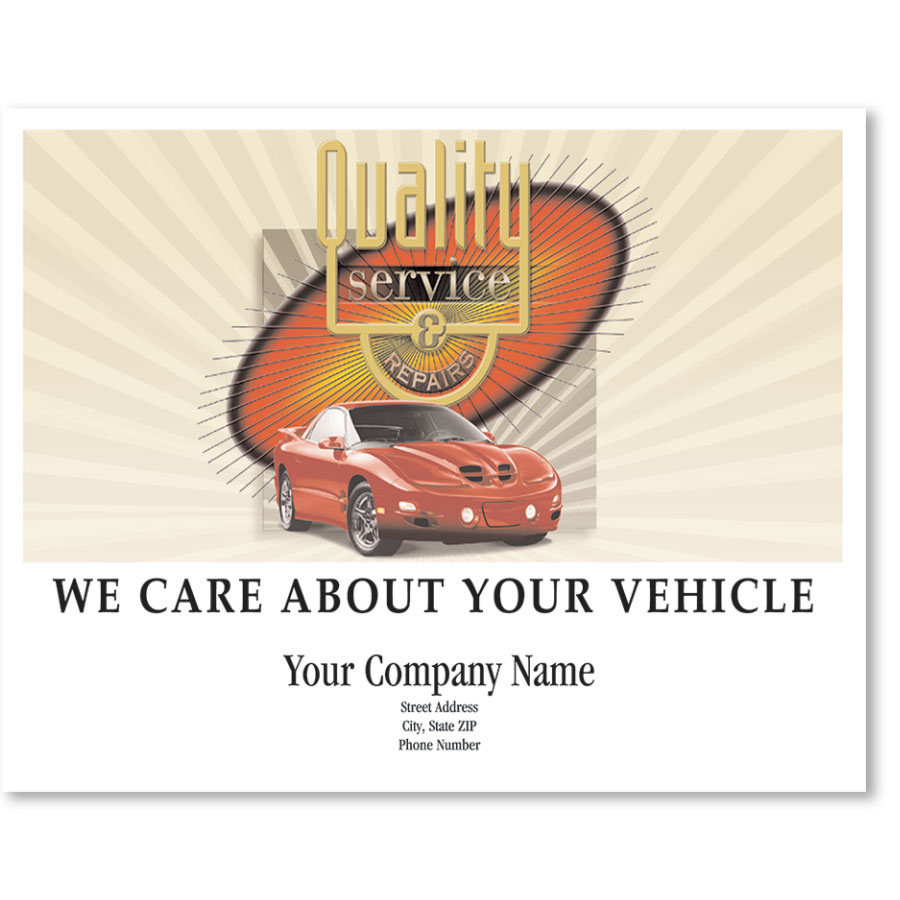 Personalized Full-Color Paper Floor Mats - Quality Service & Repairs