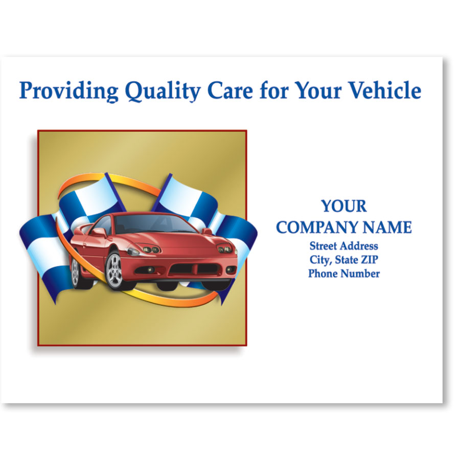 Personalized Full-Color Paper Floor Mats - Providing Quality Care